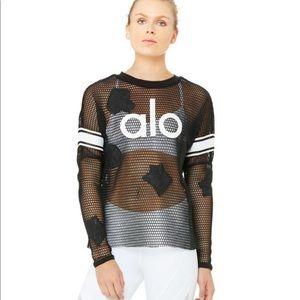 Aloyoga jersey long sleeve top